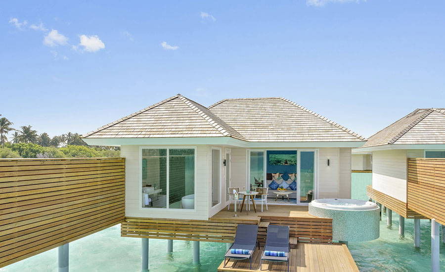 Kandima Maldives - Aqua Villa with Jacuzzi