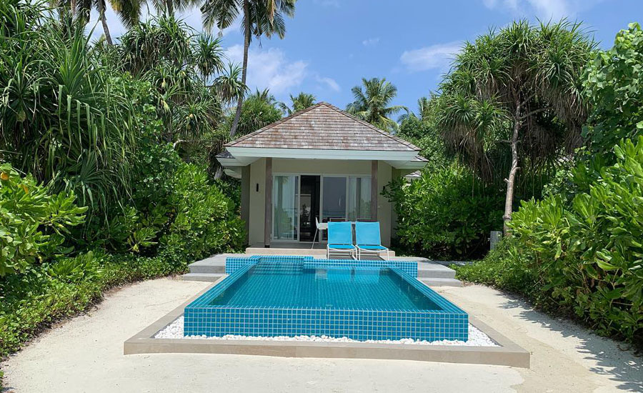 Kandima Maldives - Sunrise Beach Pool Villa with Jacuzzi
