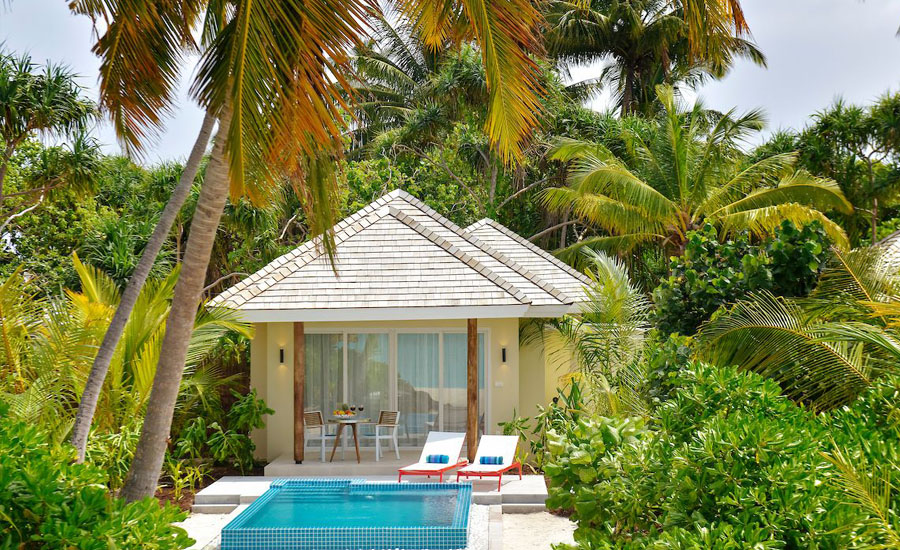 Kandima Maldives - Sunset Beach Pool Villa with Jacuzzi