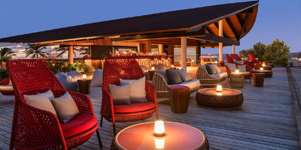 The Westin Maldives - Sunset Bar