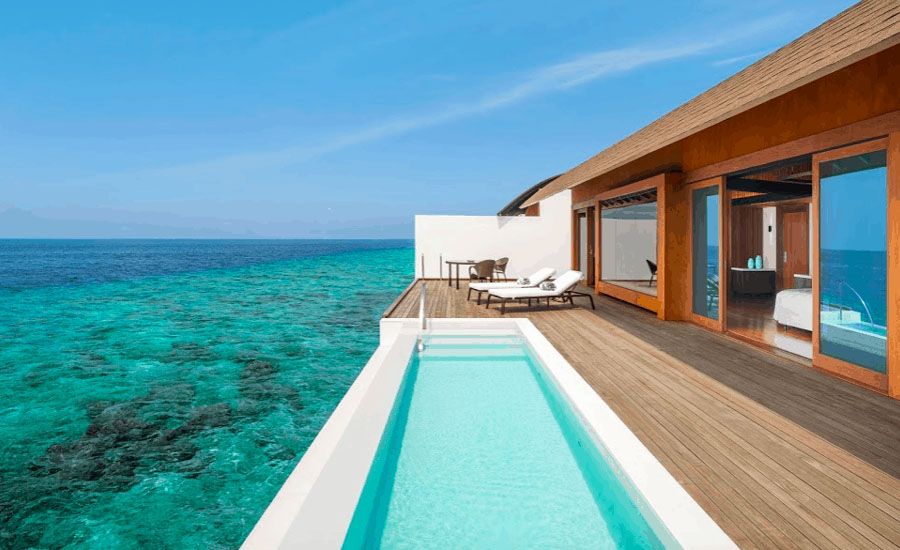 The Westin Maldives - Overwater Villa - Pool